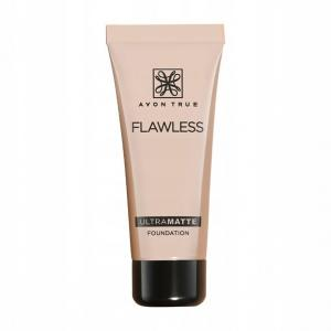 AVON Flawless UltraMatte podkład Light Beige 30ml