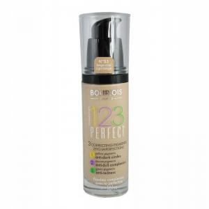 BOURJOIS 123 PERFECT PODKŁAD 53 Light Beige 30ml