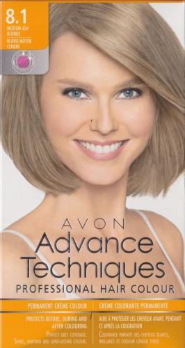 AVON farba do włosów 8.1 Średni popielaty blond