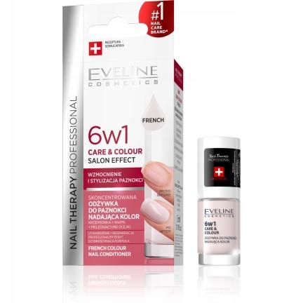 EVELINE Nail Therapy Odżywka do paznokci 6w1 French 5ml