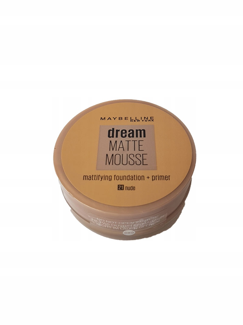 Maybelline Dream Matte Mousse Foundation #21 Nude • Se